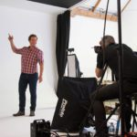 Behind the scenes at studio shoot 11
