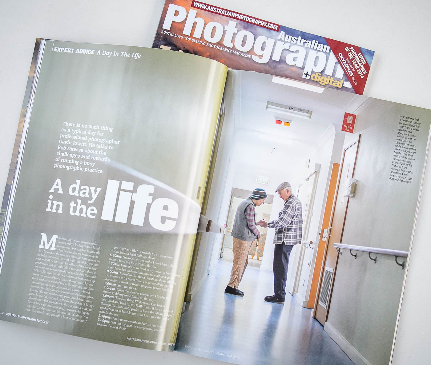 Australian Photography Magazine article