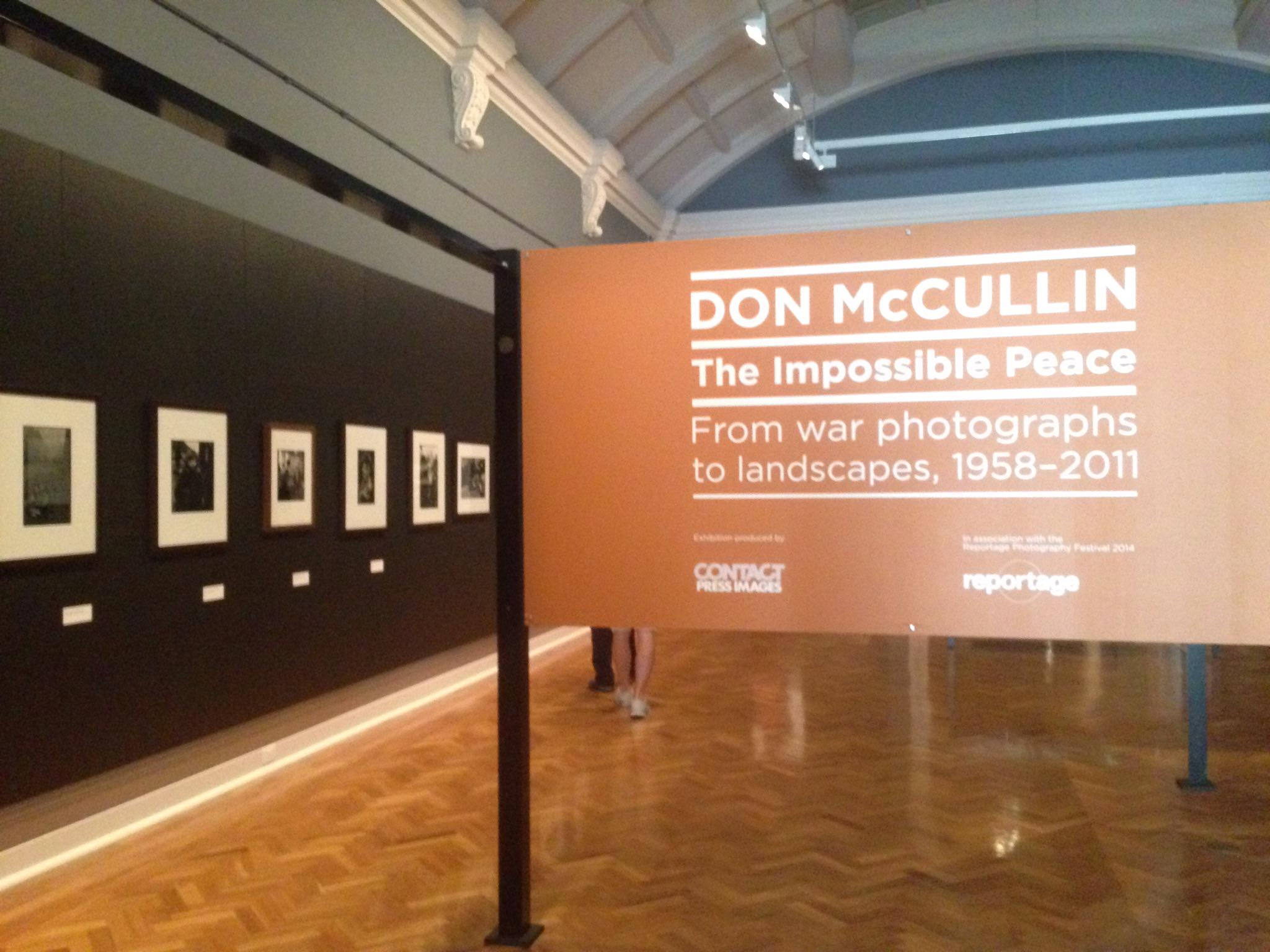 Don McCullin exhibition at State Library