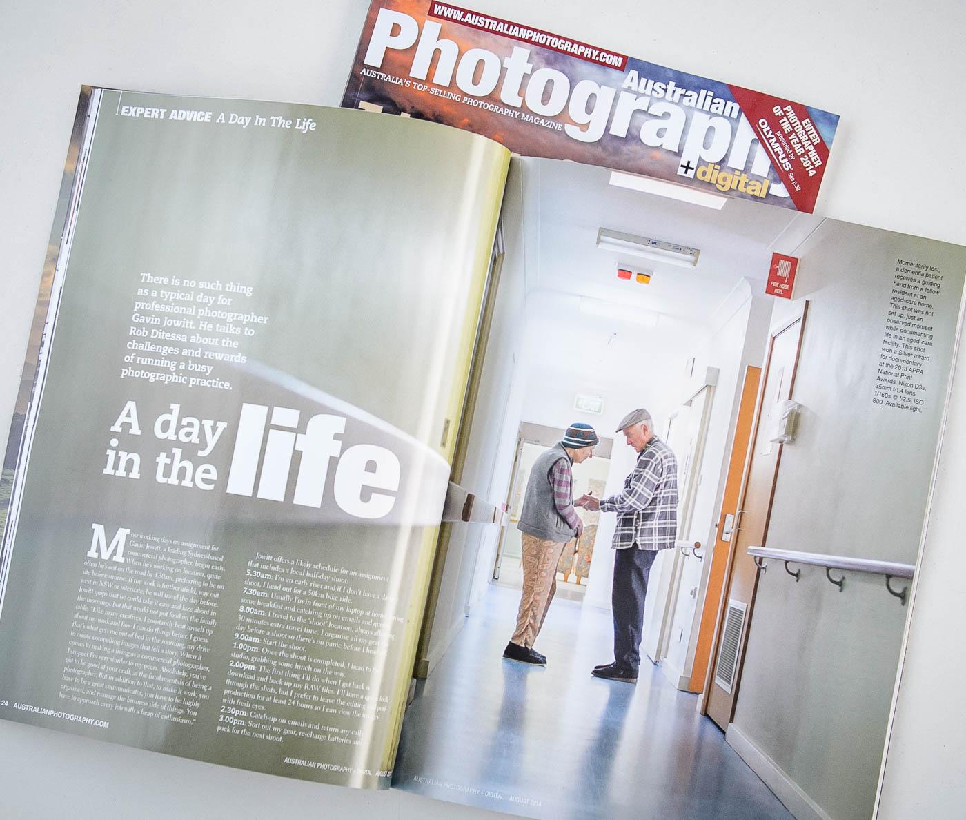 Australian Photography Magazine article